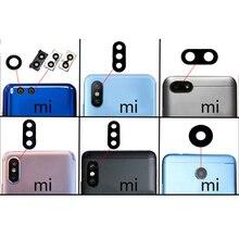 2 pièces pour mi série téléphone portable lentille en verre arrière caméra arrière lentille en verre pour Xiao mi rouge mi 5/rouge mi 5 Plus