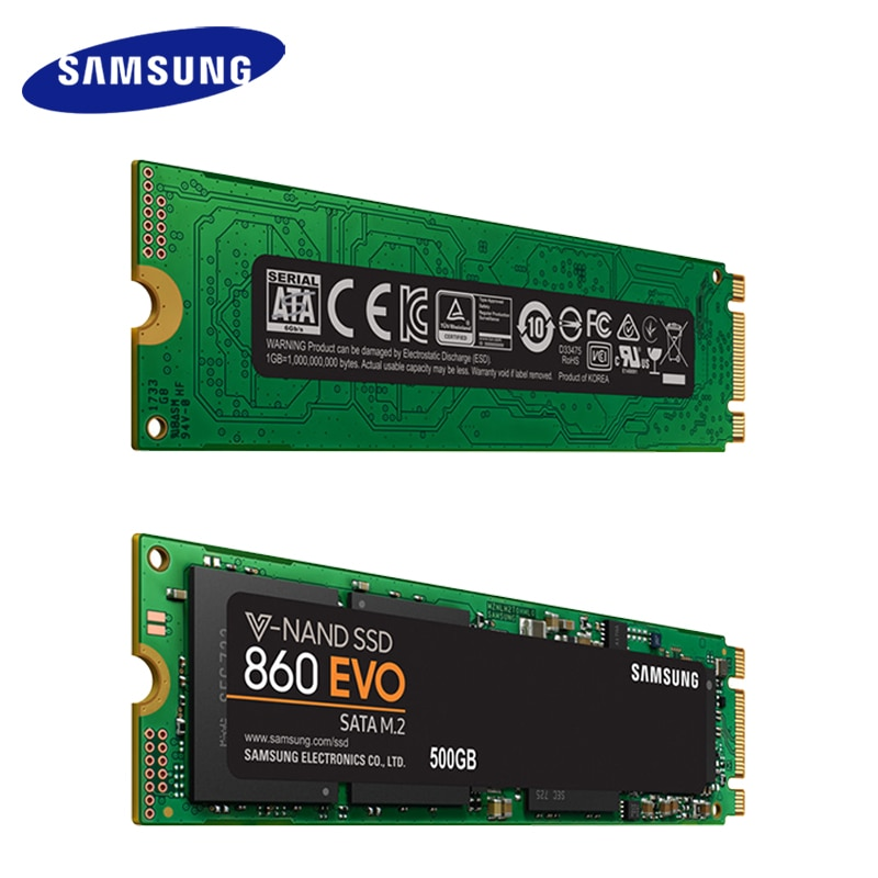 Samsung Internal SSD 860 EVO M.2 250GB 500GB 1TB 2T Solid State Drive HDD Hard High Speed for Laptop PC Computer Desktop enlarge