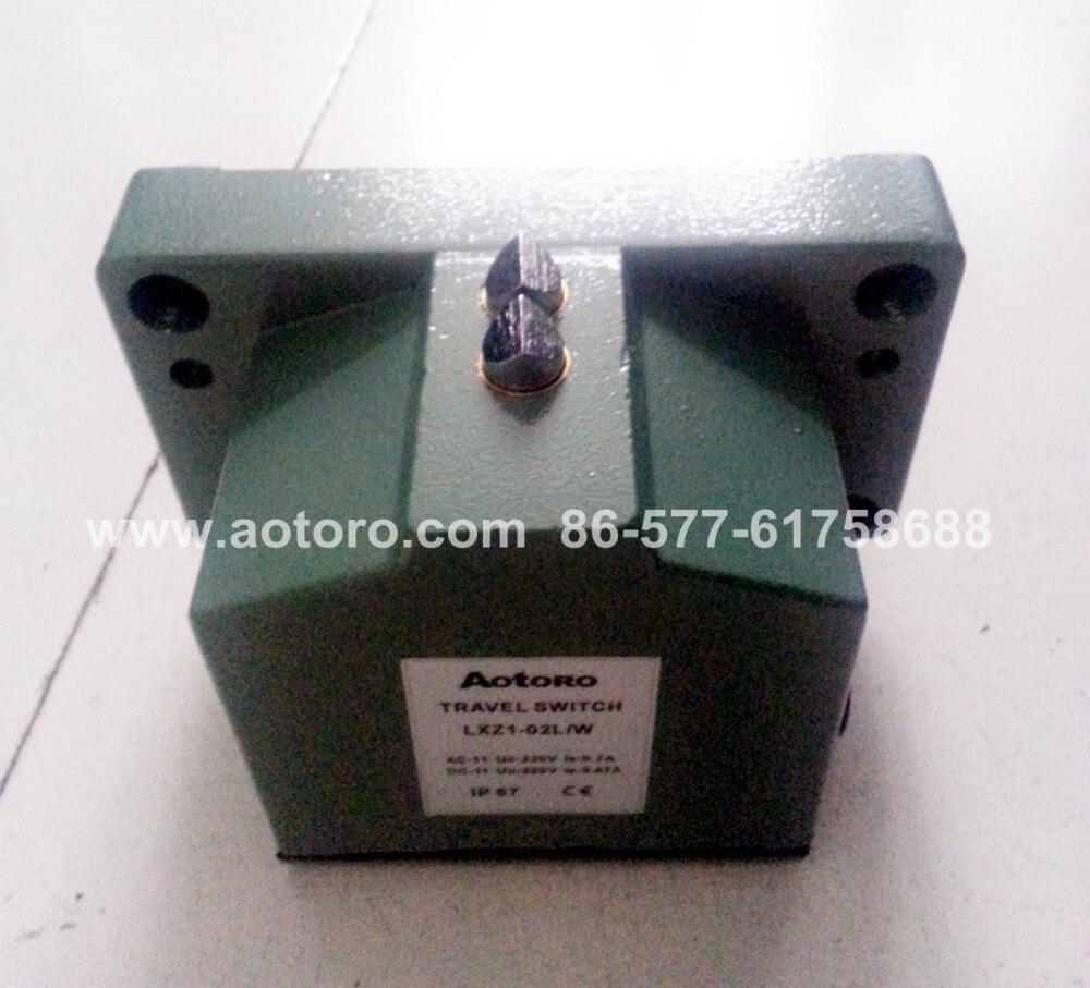 Interruptor de límite LXZ1-02L/W interruptor de viaje cónico de dos ángulos de calidad garantizada