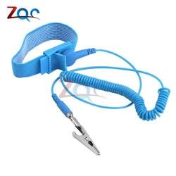 Cordless Wireless Clip Antistatischen Anti Statische ESD Armband Handgelenk Strap Entladung Kabel Für Elektriker IC PLCC worke
