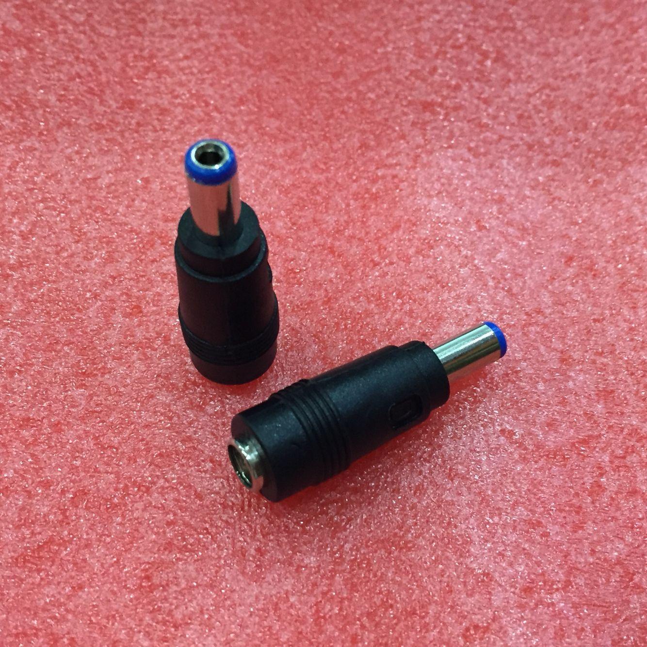 10 pcs DC Power Plug Conector cabeça de conversão DC DC5.5 * 2.1mm masculino cabeça conversão DC5.5 * 2.5mm assento mãe para Adaptador De Energia