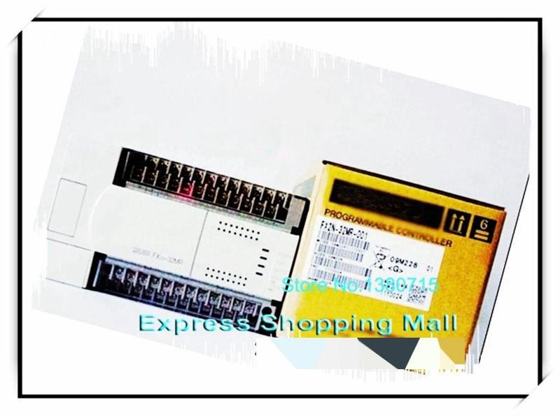 Novo FX2N-32MR-001 plc unidade principal di 16 fazer 16 relé ac 220 v