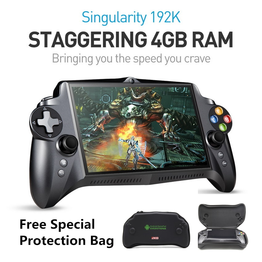 JXD S192K 7 zoll 1920X1200 Quad Core 4G/64GB Neue GamePad 10000mAh Android 5,1 Tablet PC video Spiel Konsole 18 simulatoren/PC Spiel