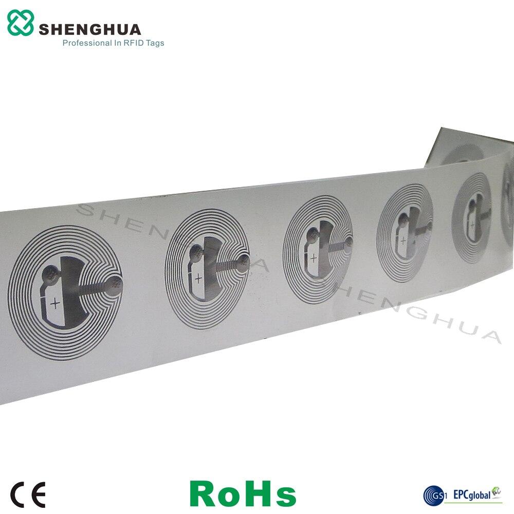 10 unids/lote gran oferta de descuento etiqueta identificadora adhesiva nfc RFID programable FM08 Chip compatible con Mi fare S50 para control de existencias
