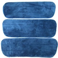microfiber cleaning reveal mop pads replacement dusting cleaning plush self adhesive mops refill 3pcs 16x5 5 41cmx14cm 41g