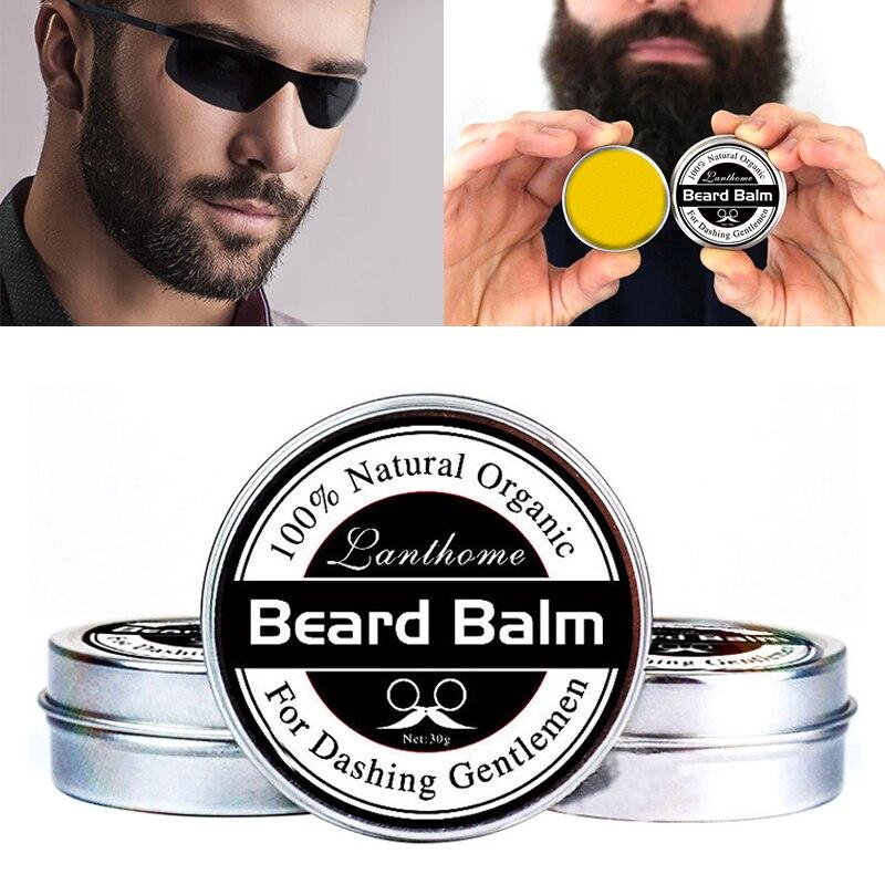 Charming Pro Natürliche Conditioner Balsam für Bart Wachstum und Organische Schnurrbart Wachs für Pflege Glatte Styling Universal TSLM1