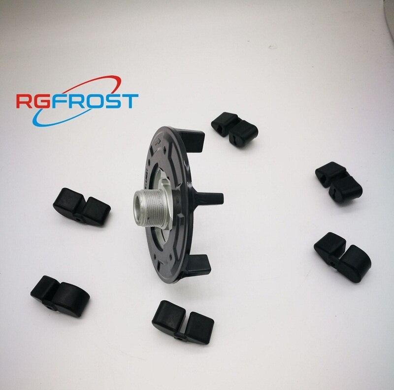 Auto AC Kompressor Kupplung Hub Für Corolla, auto air ac kompressor kupplung hub + gummi für 5SE09C 5SL12C 5SEU12C 6SEU14C 6SEU17C