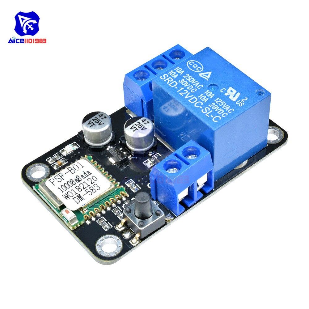 ESP8285 reemplazar DC 12V auto-bloqueo WiFi interruptor inalámbrico inteligente ciclo temporizador demora relé módulo para Android App Control Smart Home