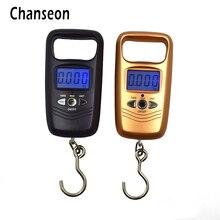 Chanseon 110lb x 0.01lb Mini balance Portable pour la pêche bagages voyage poids crochet suspendu échelle LCD balances numériques 50 kg