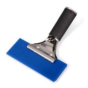 Image 3 - EHDIS ручной скребок BLUEMAX резиновое лезвие автомобильный водный скребок для льда лопата для снега окна оттенок кухонный бытовой инструмент для очистки