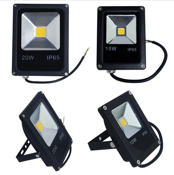Real power led floodlight waterproof spotlight 220V 50W 30W 10W exterieur Garden led flood light IP65 outdoor lighting lamp