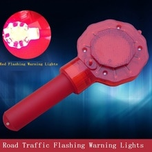Construction Traffic Barricade Flashing Warning Lights Road Safety Signal