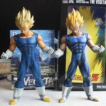 "Special Anime Color 10"" Dragon Ball Z Super Saiyan Vegeta PVC Action Figure Manga Collection Model Toys"