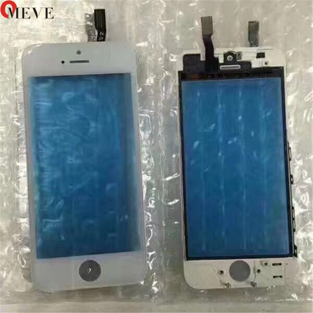 Touch Screen Digitizer + Frame For iPhone 6 6S 6P 5S 5C 5G 7G 7P Plus Touchscreen Front Touch Panel