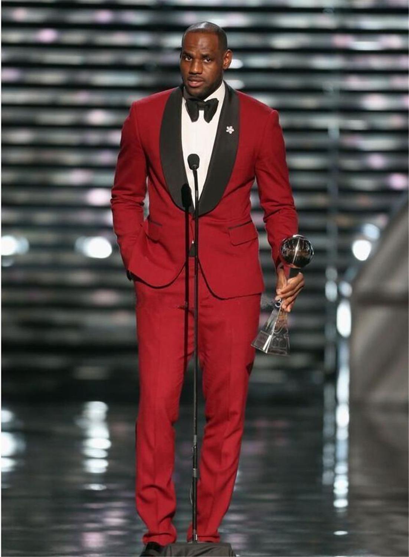 2pcs Men Suits Single Breasted Wedding Men suits Shawl Lapel Slim Fit Groomsmen Wedding Suits For Men Bridegroom(Jacket+Pants)