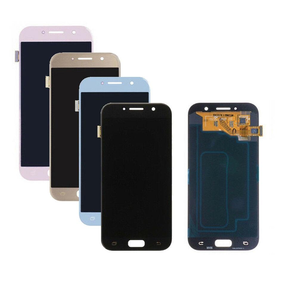Negro/dorado/azul para Samsung Galaxy A5 2017 LCD SM-A520F A520F LCD pantalla digitalizador pantalla táctil montaje + herramientas