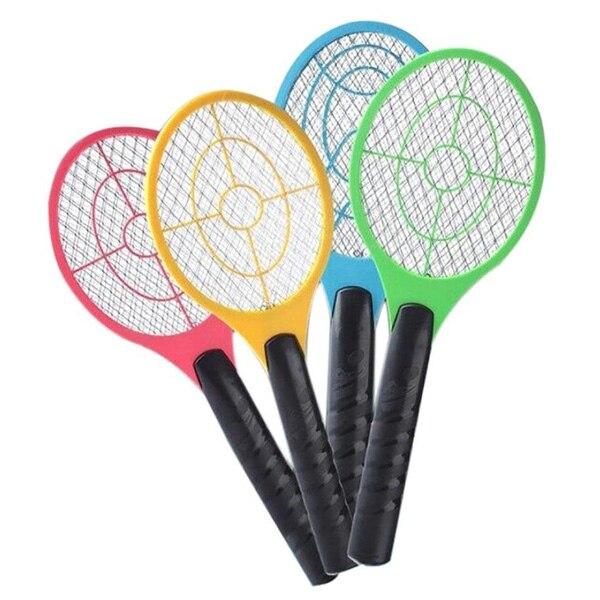 Ручная ракетка Электрическая мухобойка для дома, сада, насекомых, насекомых, летучей мыши, Оса, Zapper Fly Mosquito, борьба с вредителями P7Ding