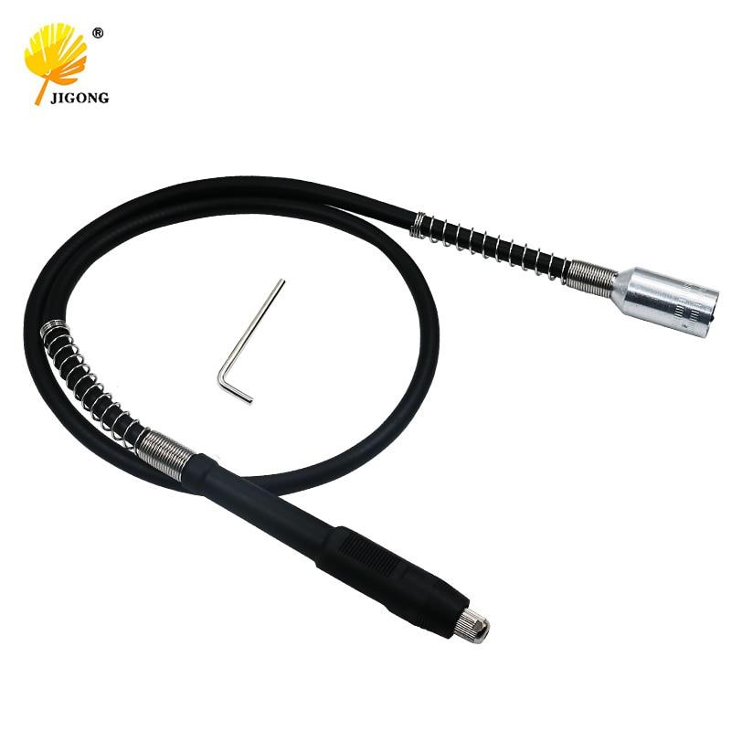 Herramienta de amoladora giratoria JIGONG eje Flexible se adapta a dremel máquina de pulido 110cm con