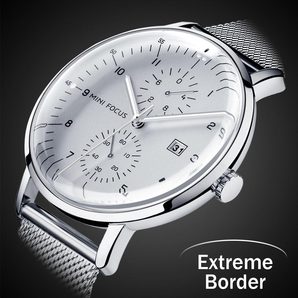 2018, producto en oferta, nave extremadamente estrecha, superficie convexa, reloj de acero inoxidable de moda para hombre, reloj de fecha, reloj Masculino