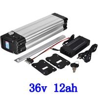 36V Lithium Battery 36V 8AH 10AH 12AH Ebike Battery 36V 12AH Electric Bike Battery with 2A charger for 36V 250W 350W 500W motor