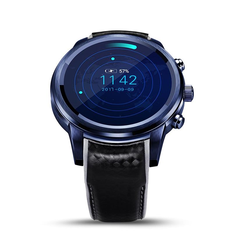 "LEM5 Pro GPS reloj inteligente Monitor de ritmo cardíaco reloj inteligente Android 5,1 WiFi Bluetooth relojes teléfono 2GB + 16GB 1,39 ""OLED Smartwatch"