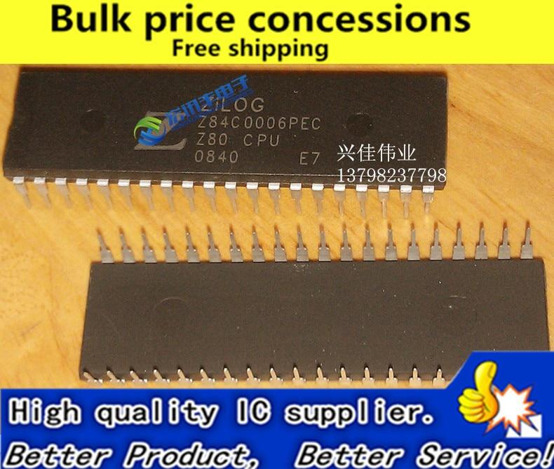 Envío gratis 10 unids/lote Z84C4006PEC Z80 CPU Z80CPU
