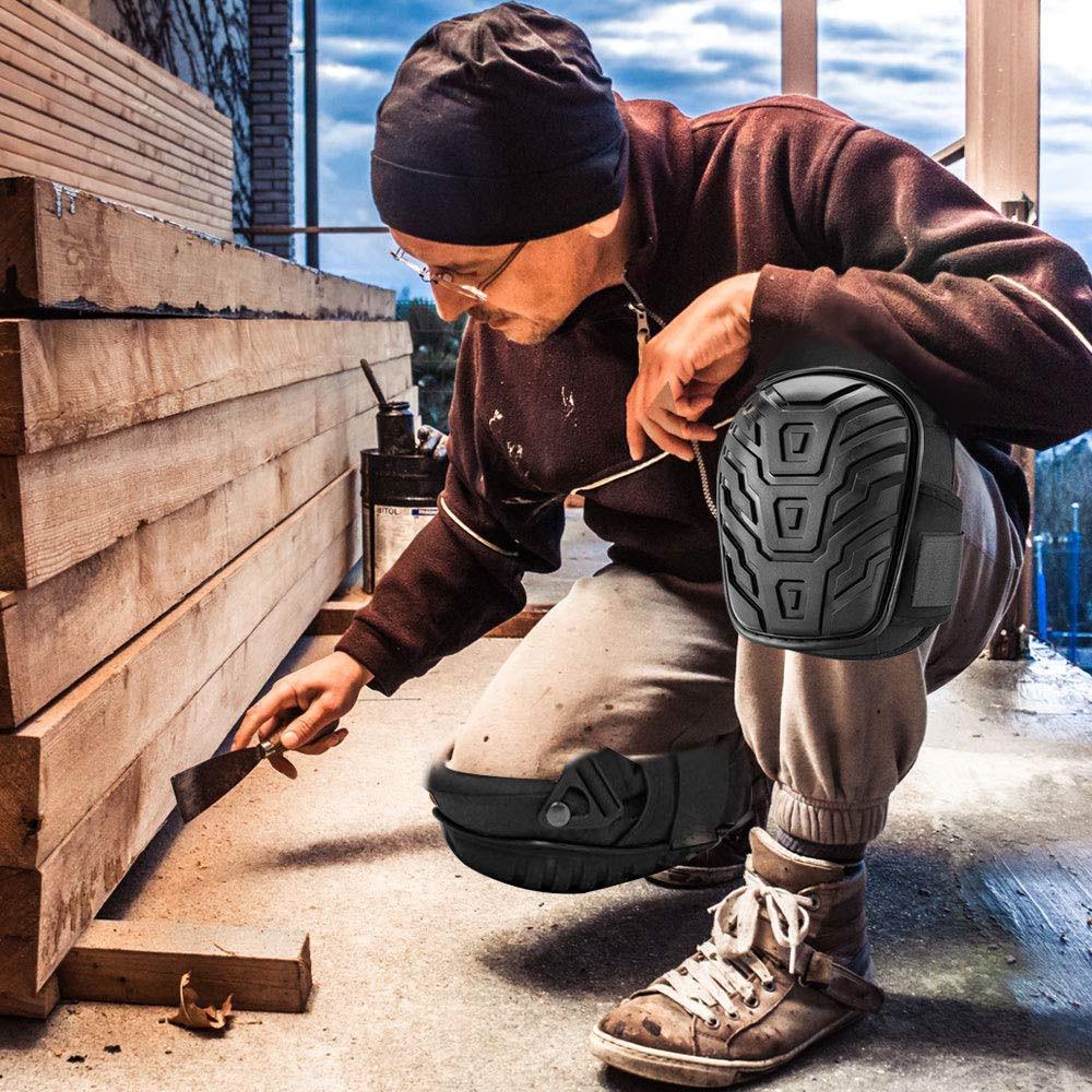 Профессиональные наколенники Премиум пенопластовые удобные гелевые наколенники Подушка гелевые наколенники садовая работа наколенники защитные инструменты