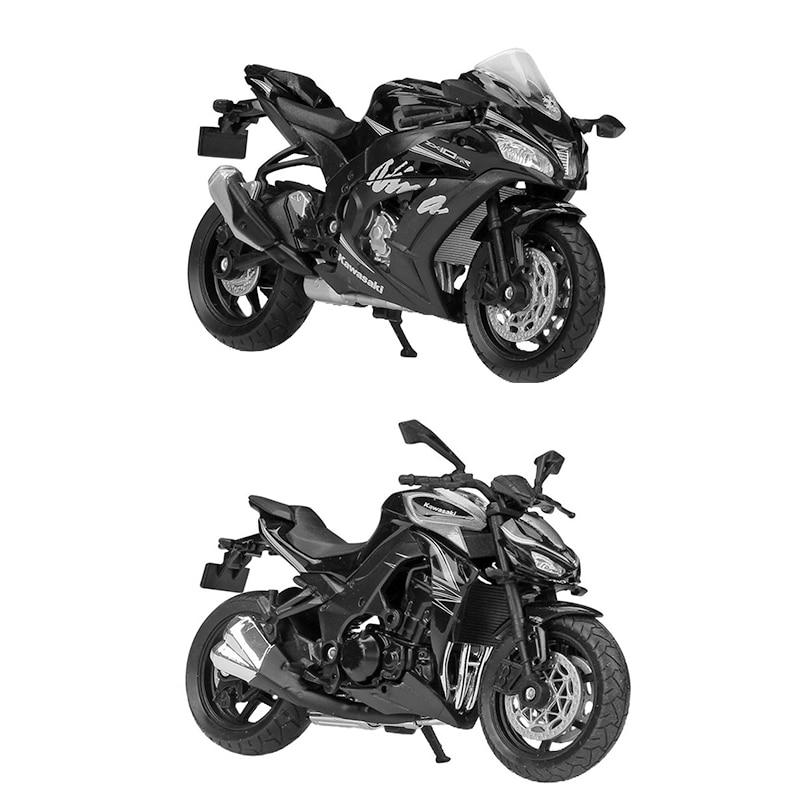 Велли 1:18 мотоцикла Кавасаки ниндзи ZX10 RR Z1000R 2017 литья под давлением