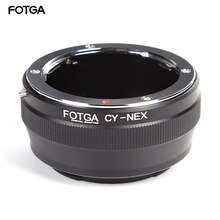 Anillo adaptador FOTGA para lente Contax Yashica CY a Sony E Mount NEX-3 NEX-5 NEX-7 cámaras 5C 5N 5R