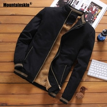 Vestes polaires en peau de montagne hommes pilote Bomber veste chaud homme mode Baseball Hip Hop manteaux coupe mince manteau marque vêtements SA690