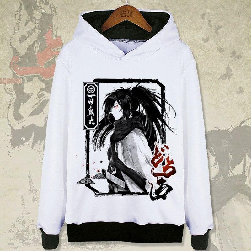 Dororo Hyakkimaru Moletom Com Capuz De Impressão Outono Mulheres Hoodies das Camisolas Dos Homens Hoodies Manga Longa Pullovers Casaco Meninas Feminino