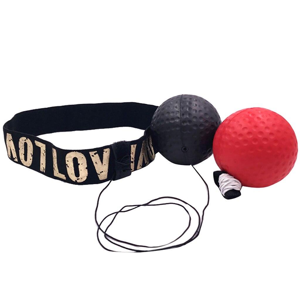 Nueva pelota de boxeo ejercicio pelota de pelea pelota de reflejo Hott equipamiento portátil de fitness pelota de entrenamiento regalo para amigo #20