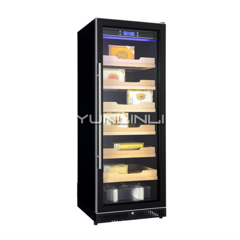 Constant Temperature And Humidity Single Door Cigar Cabinet Single Temperature Intelligent Display Cigar Cabinet 6 Level  20