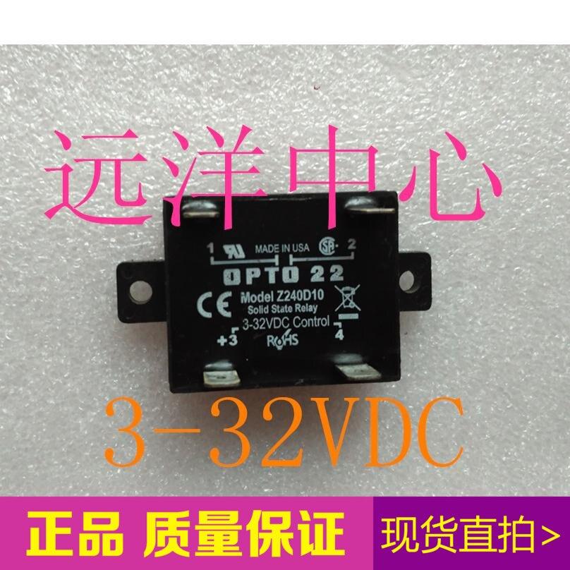 OPTO 22 modelo Z240D10 3-32VDC 4