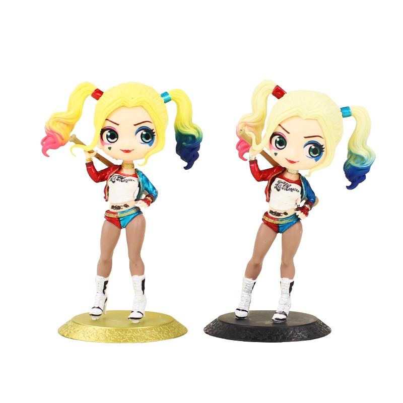 15cm Q Posket Figuren Spielzeug Harley Quinn Suicide Squad Modell Puppen Geschenk für Kinder
