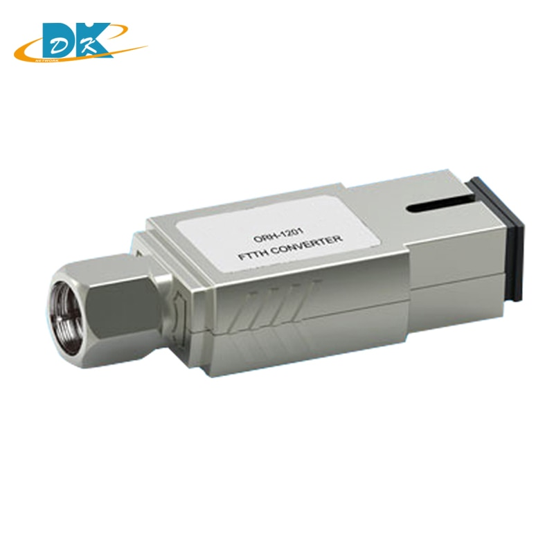 50 unids/lote ORH-1201 fibra CATV para el hogar mini receptor óptico FTTH 47-1000 MHz, convertidor receptor óptico CATV