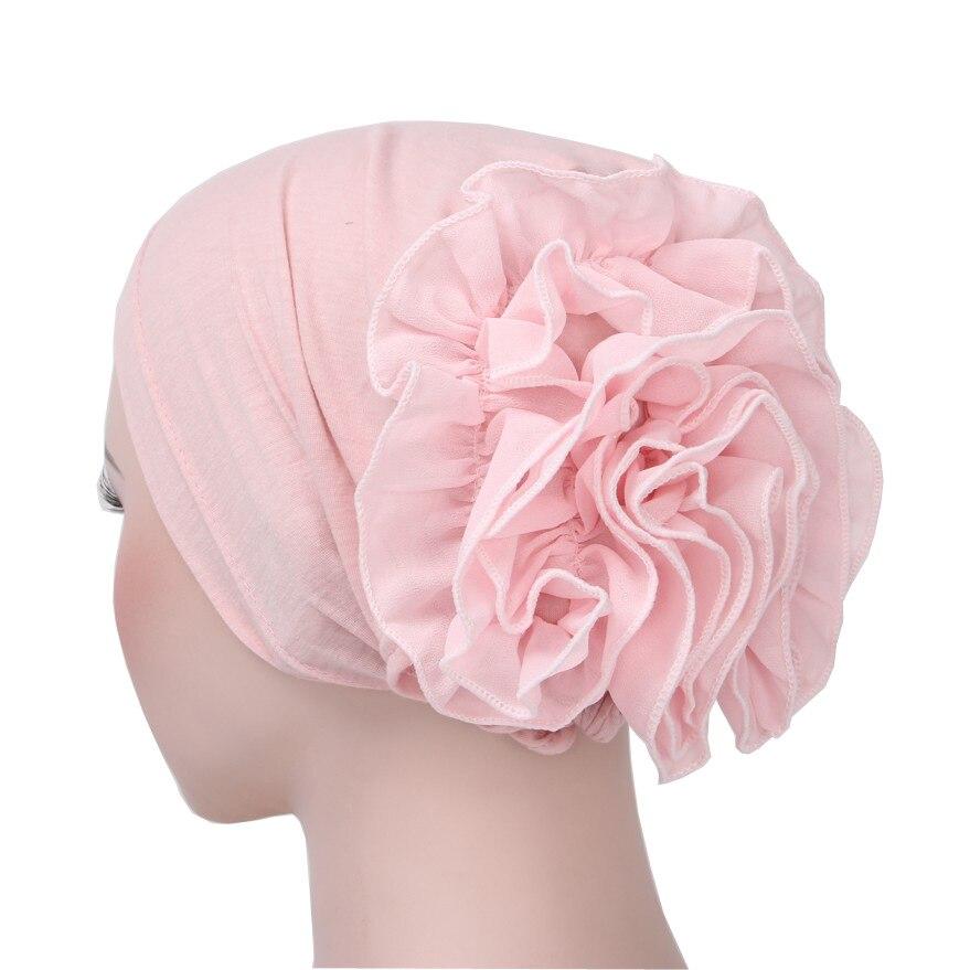 Hiyab musulmán, turbante árabe, bufanda con flor para mujer, gorro para quimio, hiyab musulmán, bufanda para mujer, hiyab islámico, funda para cabeza