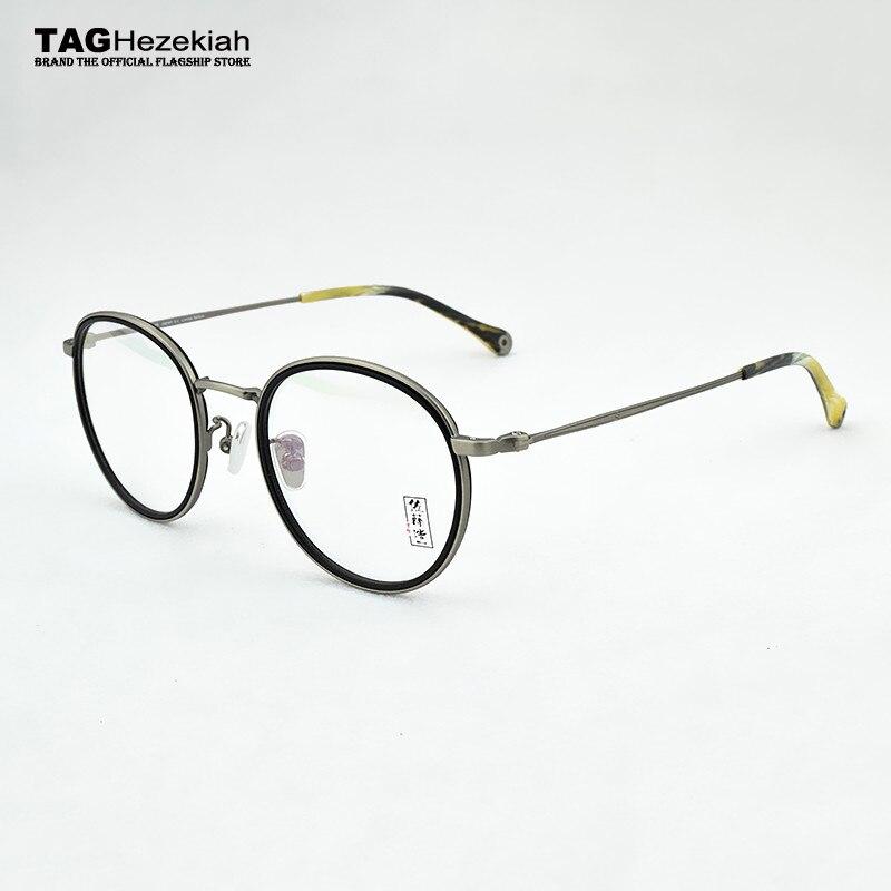 2019 new round glasses frame women Retro fashion eye glasses frames for men myopia glasses computer optical spectacles frames