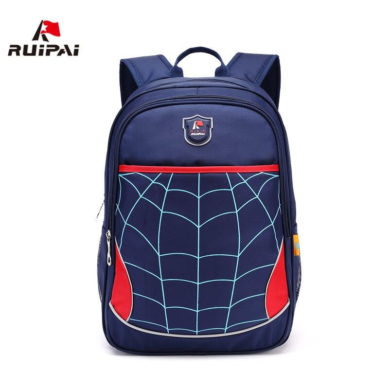 RUIPAI нейлоновые детские школьные сумки для мальчиков и девочек-подростков, клетчатые преппи мужские ортопедические рюкзаки, школьные сумки ...