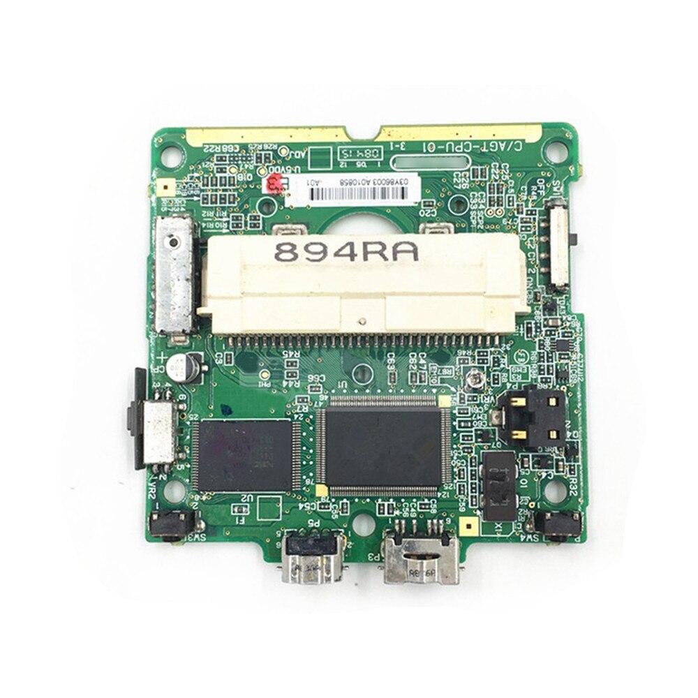 Para Nintend GBA SP placa base retroiluminada de alto brillo GBA SP pieza de reparación Accesorios