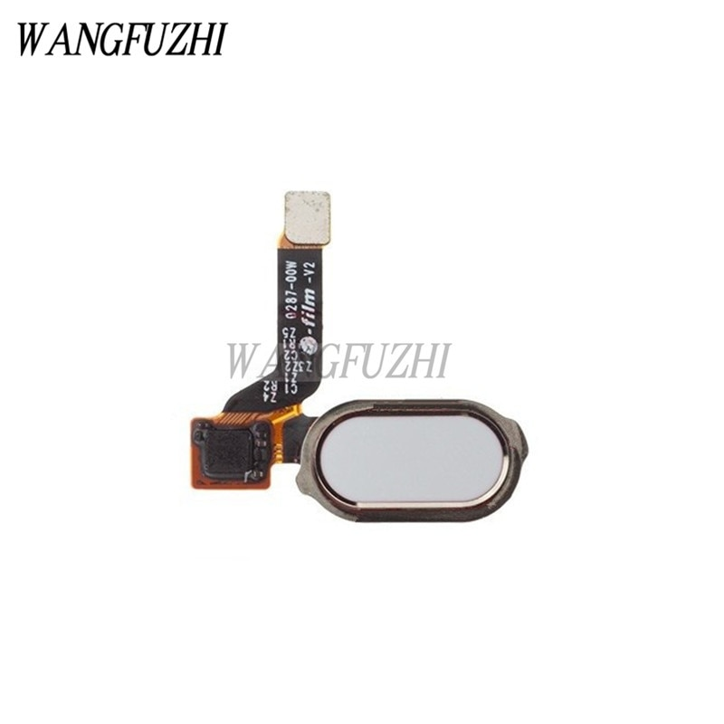 WANGFUZHI Original Sensor de escáner de huella digital Cable flexible pieza de repuesto para OnePlus 3/Three/3 T