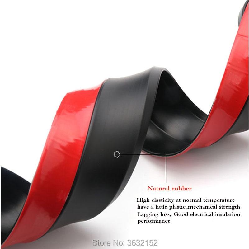 2,5 m parachoques delantero del coche labio Protector tira de goma de coche accesorios de estilo de coche pegatinas para SUZUKI vitara swift sx4 jimny grand
