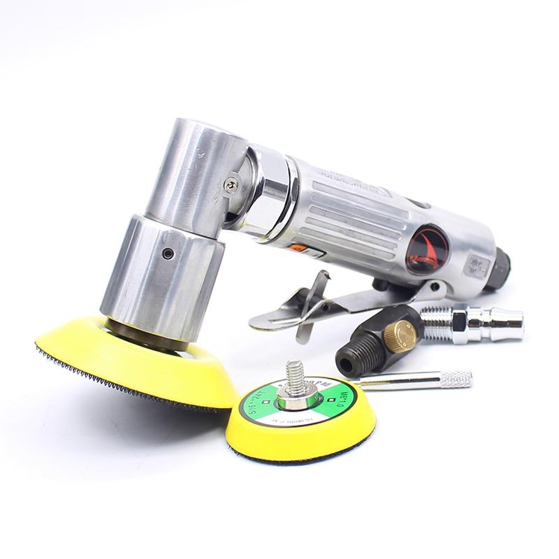 ملمع الهواء الهوائي ، 2 و 3 بوصات ، آلة صنفرة ، آلة تلميع ، أداة تلميع هوائية