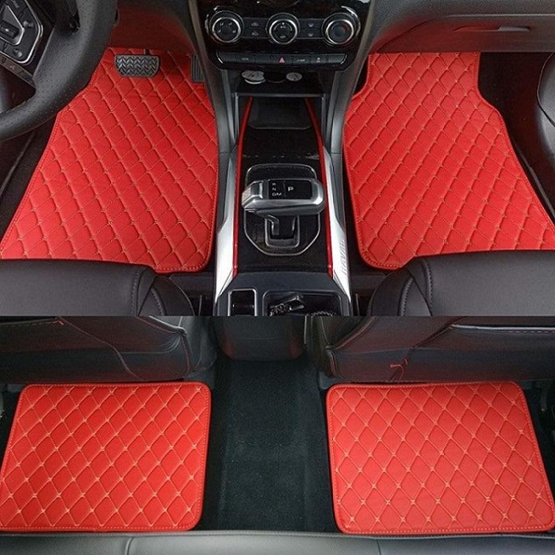 ZHAOYANHUA alfombrillas universales para coche, alfombrillas de estilismo para coche, alfombrilla adaptable a todos los modelos Kia Sorento Sportage Optima K5 Forte Carens Soul