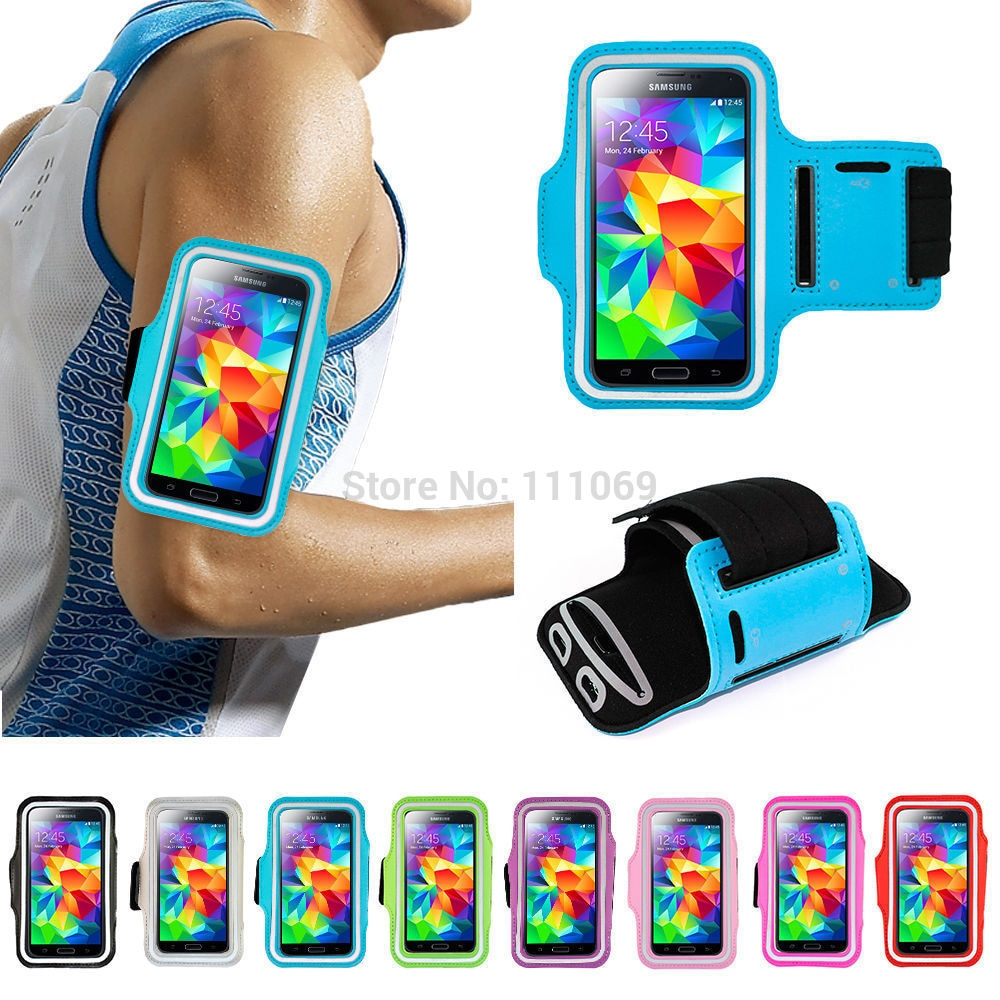 10 pc/lote telefone bolsas cases para samsung galaxy s6 s5 s4 caso nylon correndo ginásio esportes braçadeira caso para samsung galaxy s8 s7 borda