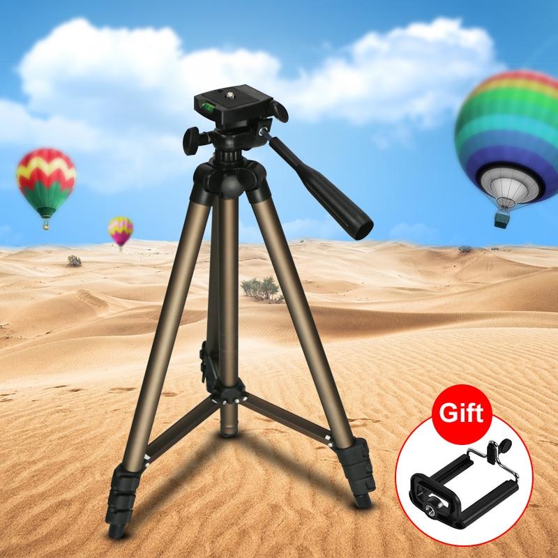 Trípode de cámara Profesional WT3130 para Canon Nikon Sony DSLR Cámara videocámara...