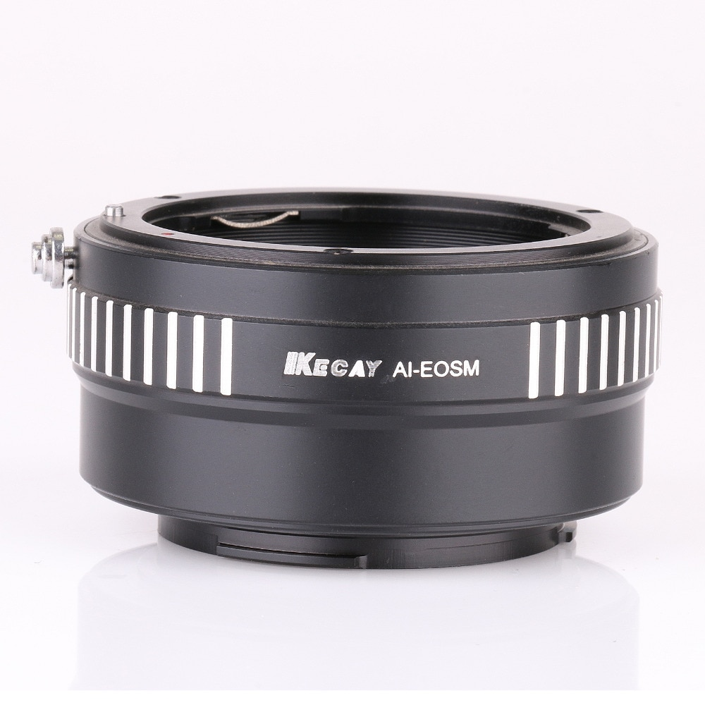 Крепление объектива переходное кольцо AI-EOSM для Nikon F Крепление объектива и для Canon для EOS M EF-M беззеркальная камера Новинка-черный + серебристы...