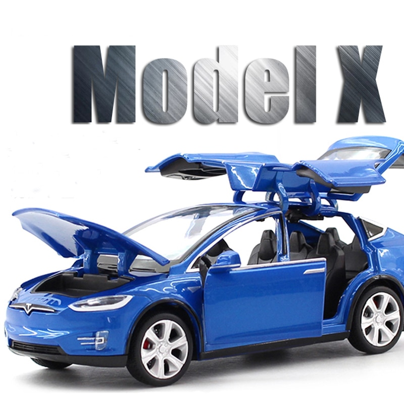 New 1:32 Tesla MODEL X Alloy Car Model Diecasts & Toy Vehicles Toy Cars Free Shipping Kid Toys For C