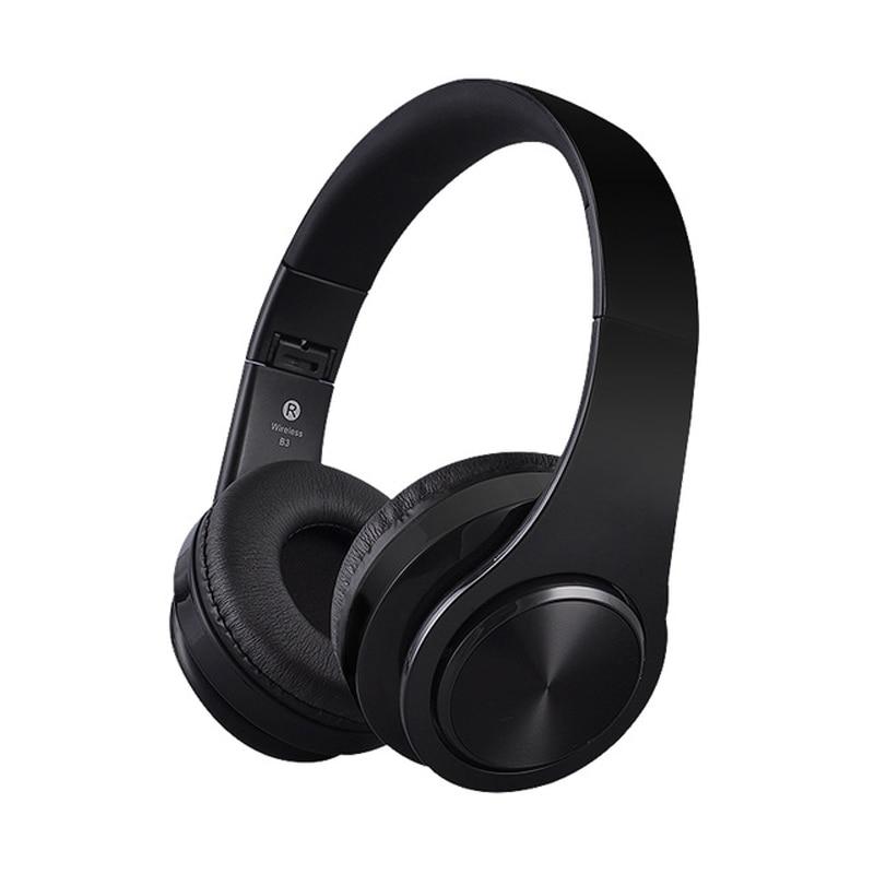 Manos libres estéreo Headfone Casque Audio auriculares Bluetooth auriculares inalámbricos para ordenador Aux Head Phone