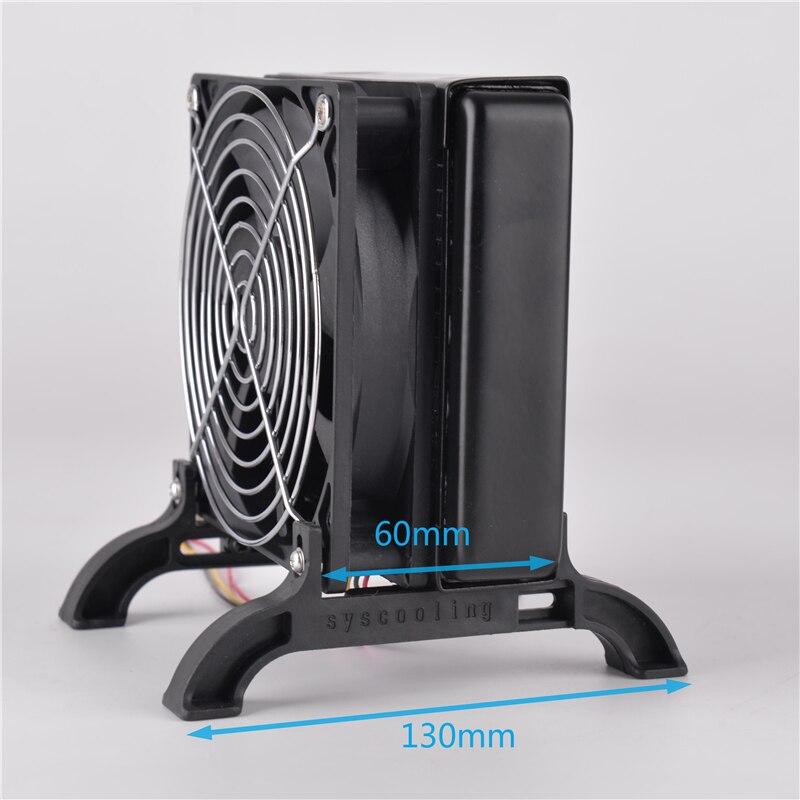 لتبريد مختلف السماكة الباردة 120 240 360 مللي متر مبرد مياه الكمبيوتر مبادل حراري قوس خارجي دعامة بلاستيكية للساق